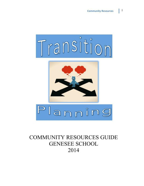 Community Resource Guide 2014