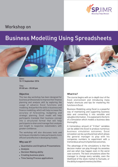 Business Modelling