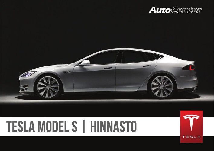 Tesla hinnasto 2014 - Tampereen AutoCenter Oy