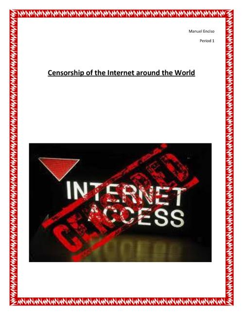 Internet Censorship Around the World