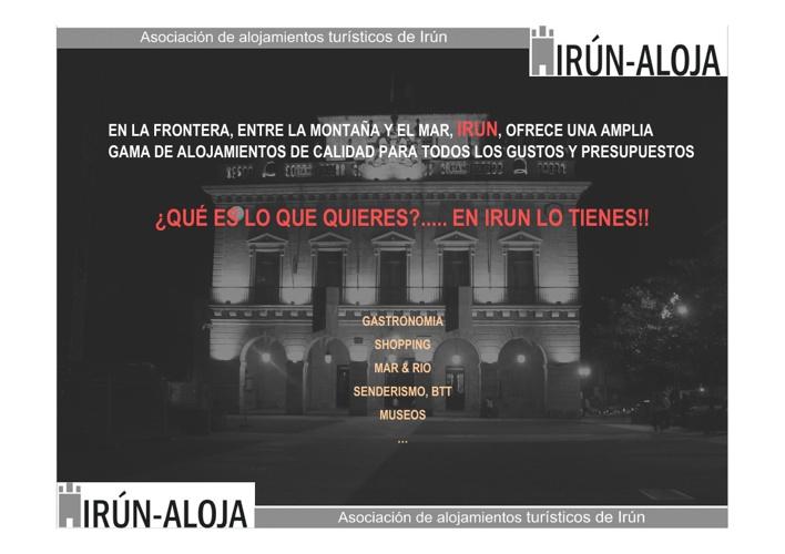 Presentación Asociación IRUN ALOJA