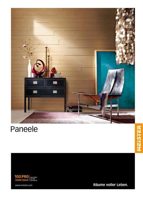 MEISTER Paneele Katalog 2015