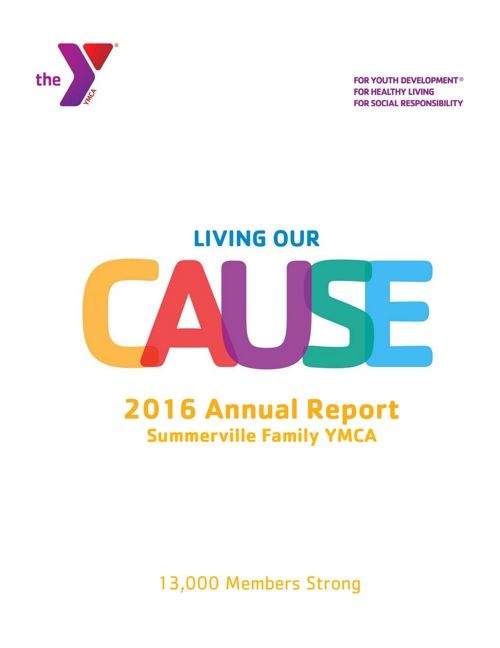 Summerville Family YMCA 2016 Annual Report