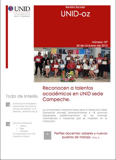 Revista digital UNID-oz