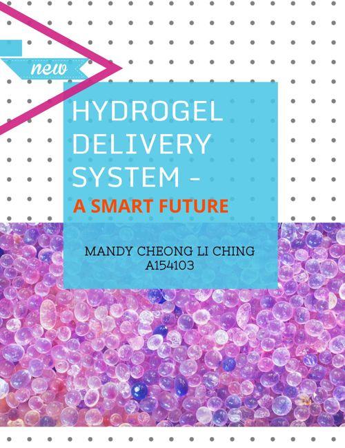 HYDROGEL - THE SMART MEDICINE