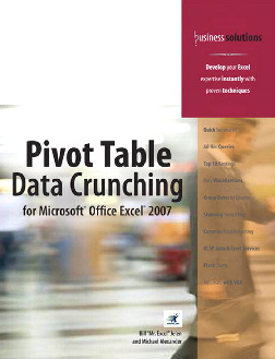 Pivot Table Data Crunching for Excel 2007