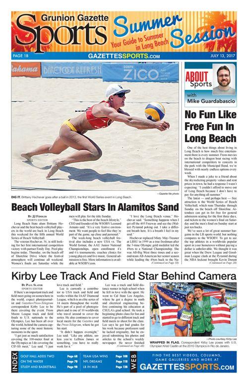 Gazette Sports     July 13, 2017