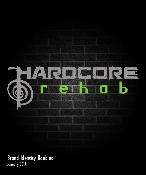 Hardcore Rehab Brand Identity