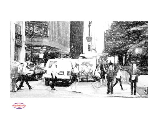 Imagemedia NY Shuttle Buses - Metrocarts - Trucks