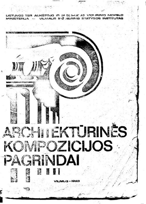 architekturines kompozicijos pagrindai