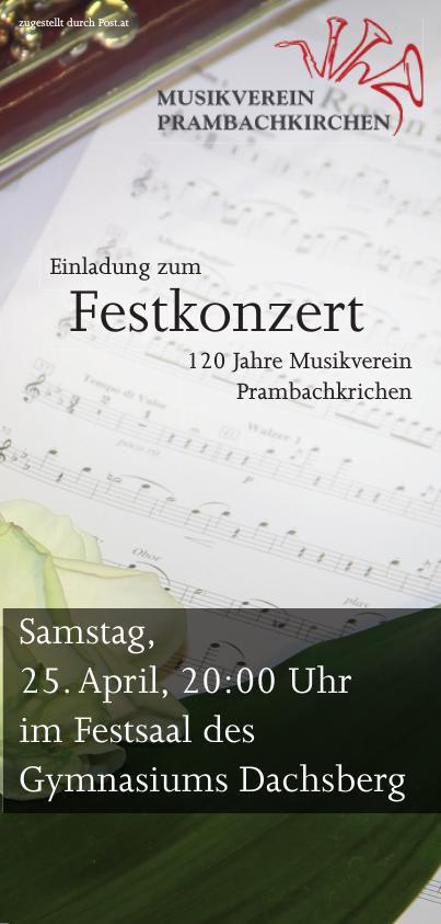 Festkonzert 120 Jahre Prambachkirchen
