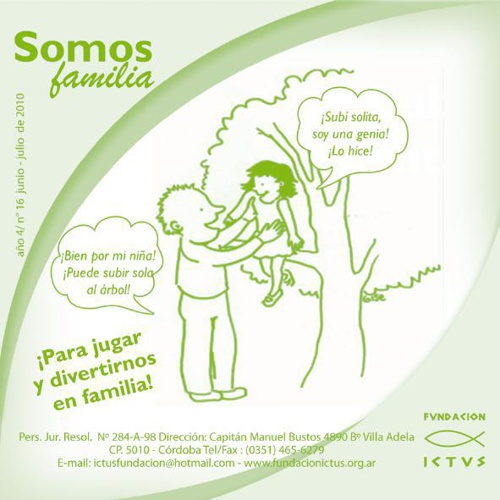 "Boletín ""Somos Familia"" N°16 - 2010"