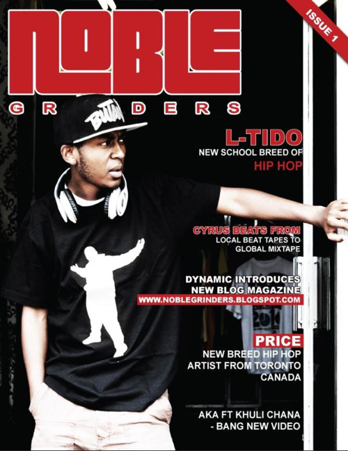 Noble Grinders Magazine 1st Issue