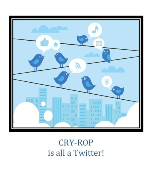 CRYROP Twitter Implementation