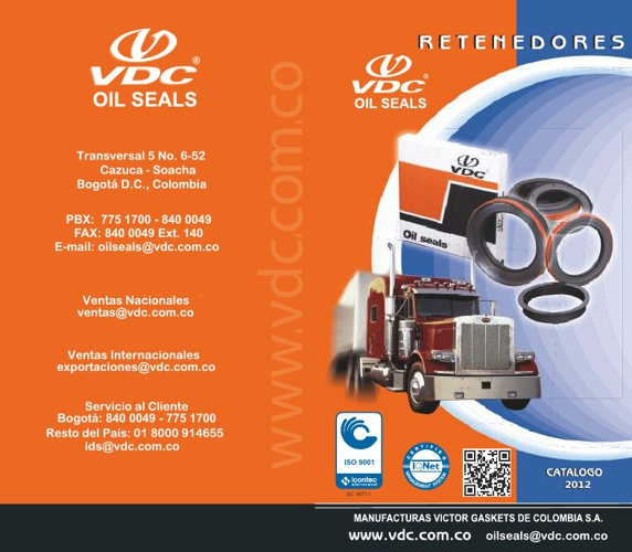 Catalogo VDC 2012