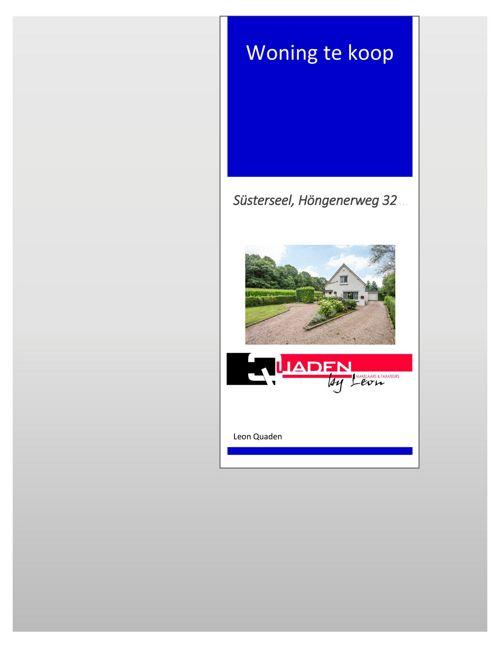 Quaden Makelaars - Duitsland Susterseel, Hongenerweg 32