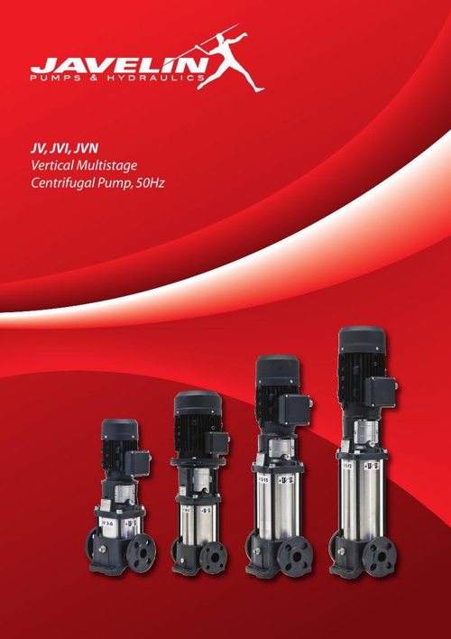 Javelin Pumps Brochure
