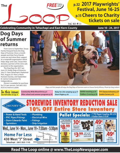 The Loop Newspaper Vol 32 No 11 - June 10 to 24, 2017