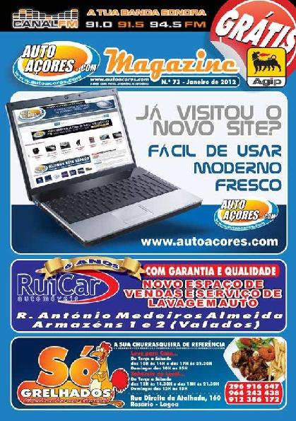 Auto Açores Magazine - Janeiro 2012