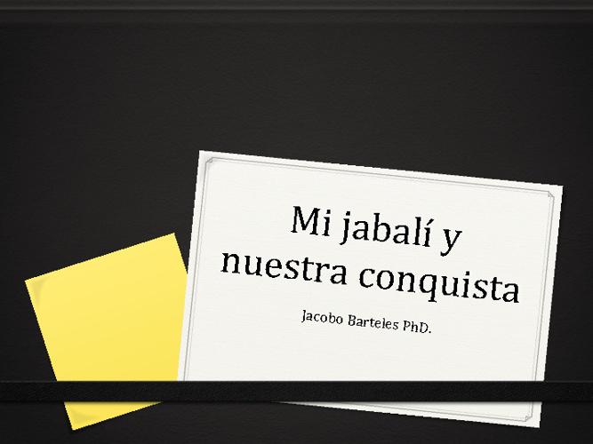 Mi Cuento -- Jake Bartles