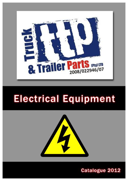 TTP Catalogue - Electrical Equipment