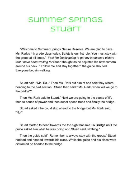 Summer Spring Stuart