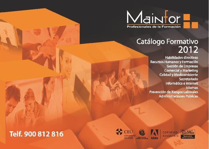 Catálogo Mainfor 2012