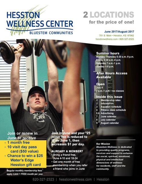 Summer 2017 | Hesston Wellness Center News