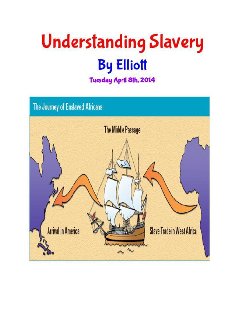 WHAT WAS SLAVERY
