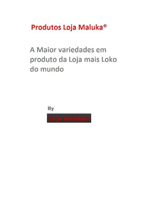 Catálogo de Produtos Loja Maluka