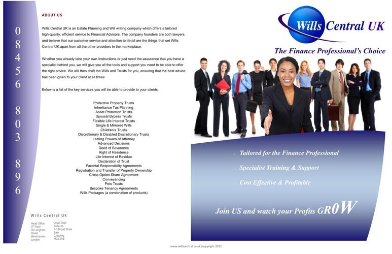 WCUK IFA brochure