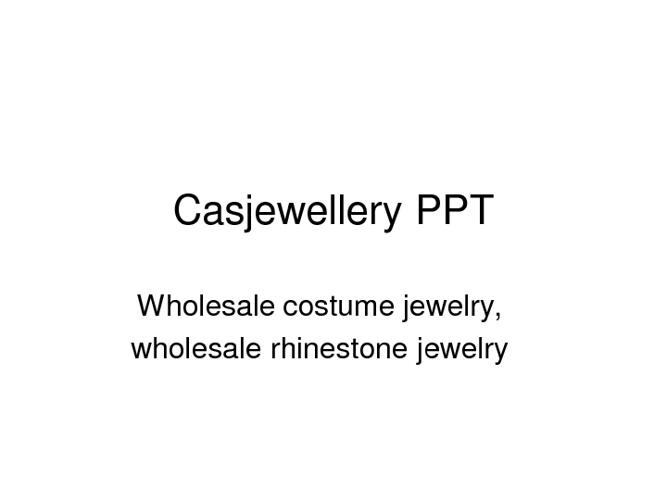 Casjewellery Flip