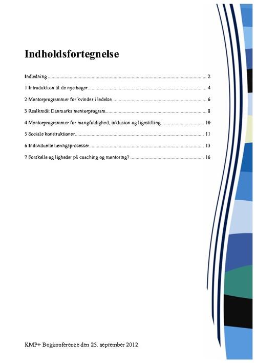 KMP+ Bogkonference den 25. september 2012