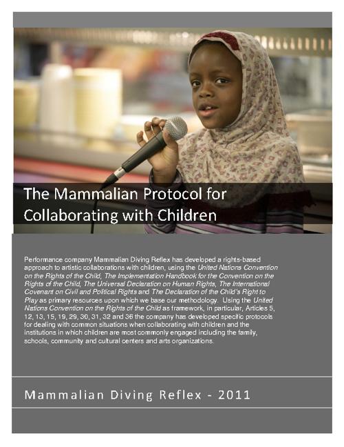 Mammalian Protocol for Collaborating with Children