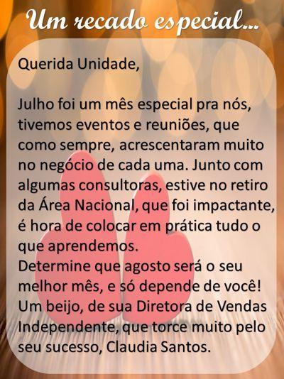 Revista da Unidade - Julho/2015