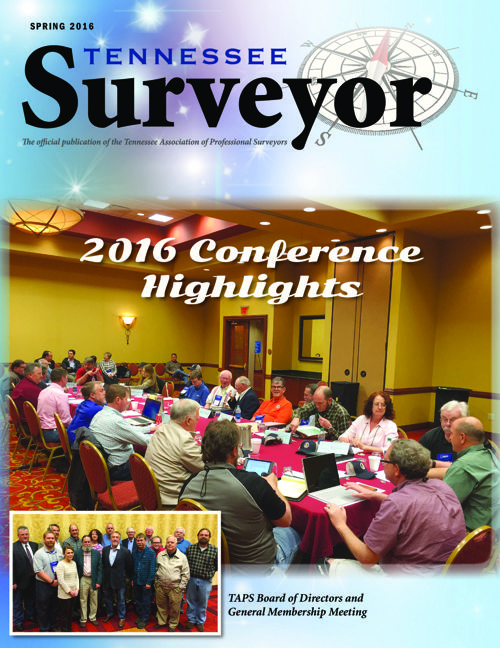 Spring 2016 Tennessee Surveyor