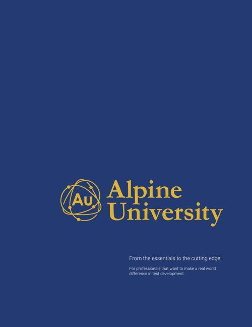 Alpine University 2015 Catalog