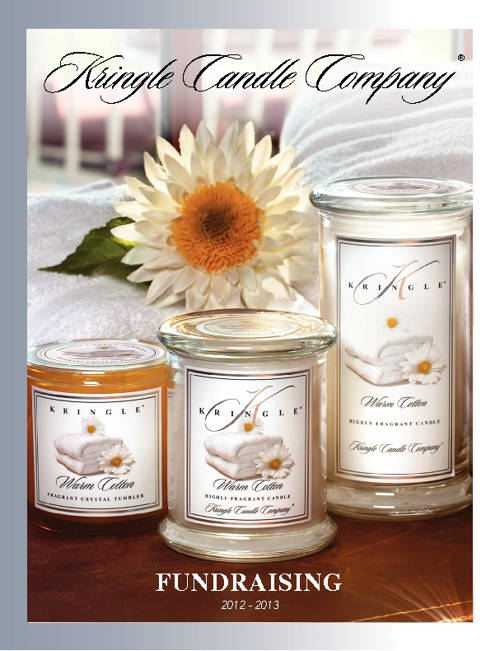 Kringle Candle Fundraising Catalogue 2012 / 2013