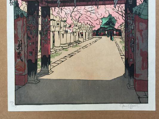 Cherry Blossoms at Ueno Paul Binnie