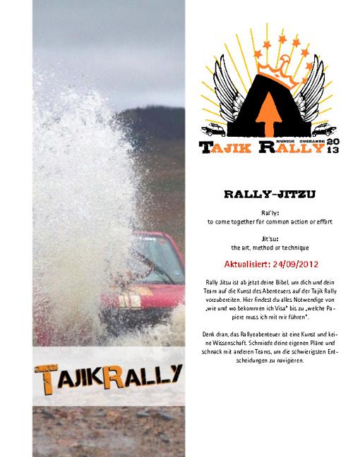 TR13 - Rally Jitsu