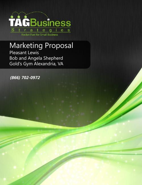 Gold's Gym Alexandria, VA Marketing Proposal
