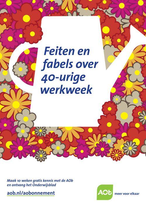Feiten en fabels over de 40uurwerkweek