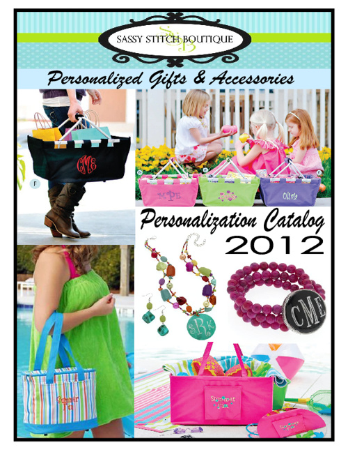 Sassy Stitch Boutique 2012 Catalog