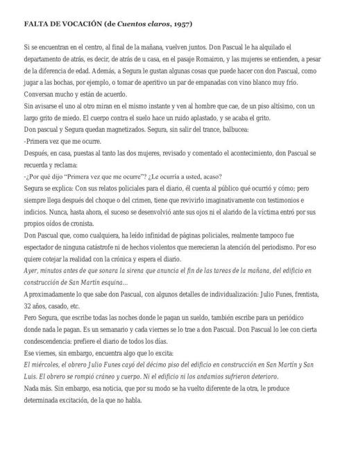 Antología de relatos - Antonio Di Benedetto