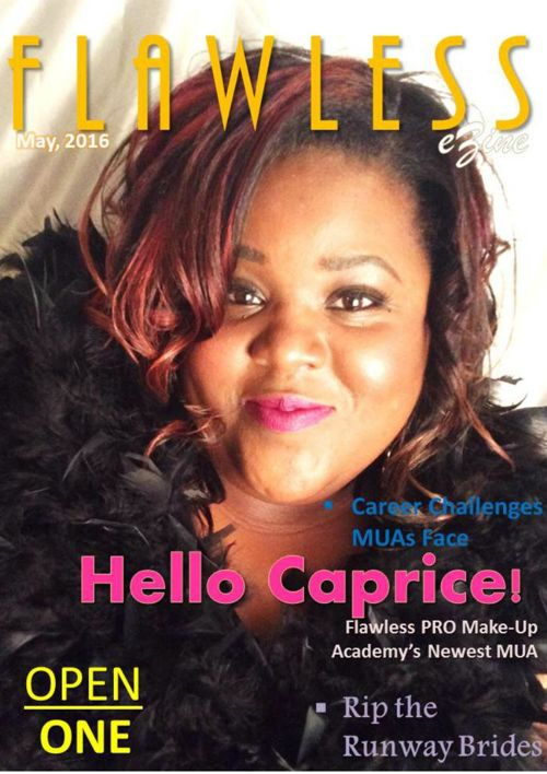 Flawless e-Zine f. Caprice Howard