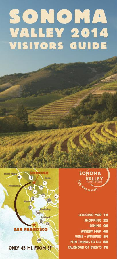 Sonoma Valley Visitors Guide // 2014