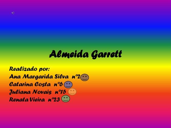 Biogafia de Almeida Garrett