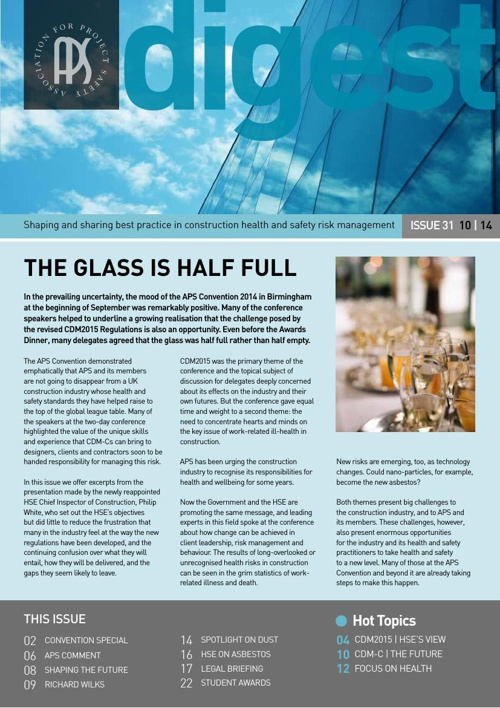 APS | Digest | Issue 31 | October 2014