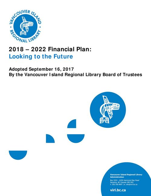 2018 - 2022 Adopted Financial Plan