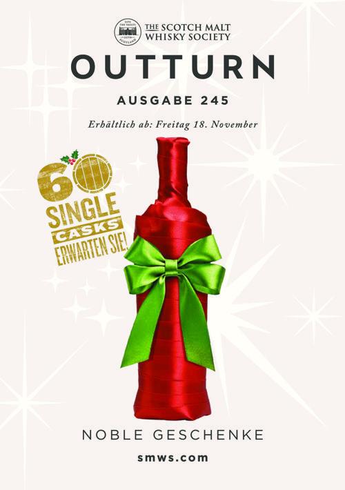 SMWS Outturn November 16-4 Noble Geschenke - Deutsch